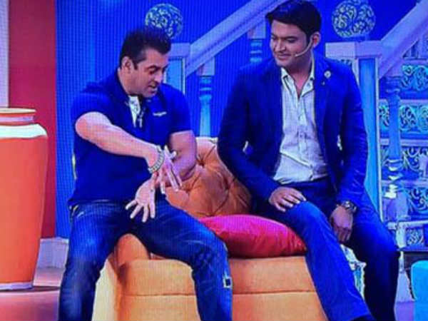 Kapil & Salman Share A Good Rapport