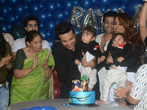Guests At Rayaan & Krishaang's Birthday Bash