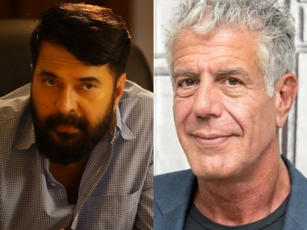 Mammootty Remembers Anthony Bourdain Through A Heart-touching Note!