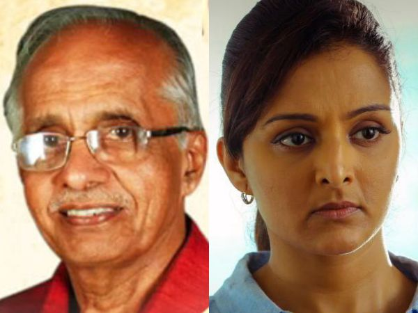 Popular Actress Manju Warrier's Father Madhava Warrier Is No More!