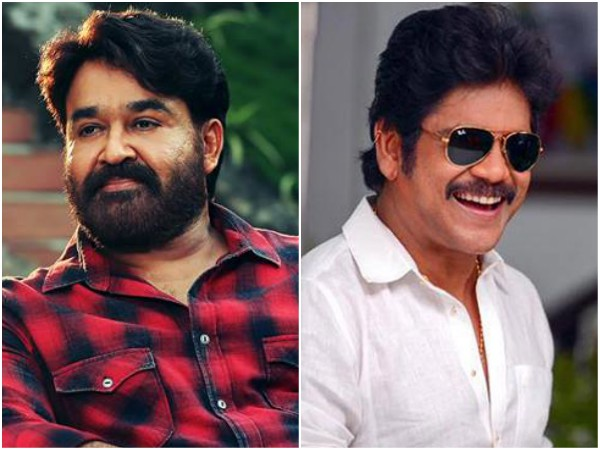 Mohanlal and Nagarjuna To Team Up For The First Time?