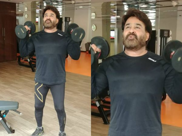 Mohanlal's New Workout Video Is Sure To Inspire Everyone!
