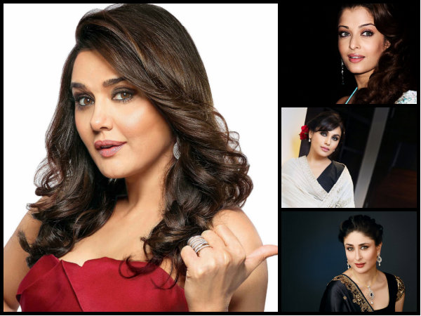 Preity Chose Aishwarya Over Kareena & Rani