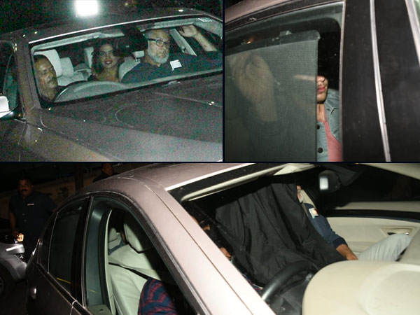 Priyanka & Nick Arrive In Mumbai
