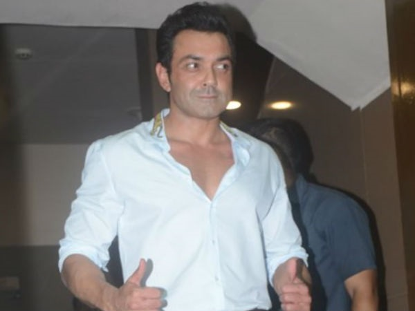 It's A Thumbs Up From Bobby Deol Too