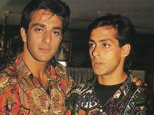 Check Out Salman Khan & Sanjay Dutt's Rare Pictures ...