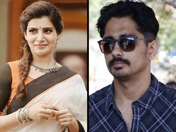 Samantha and Siddharth