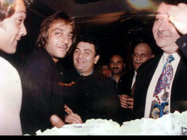 When Rishi Kapoor Lost His Cool On Sanjay Dutt