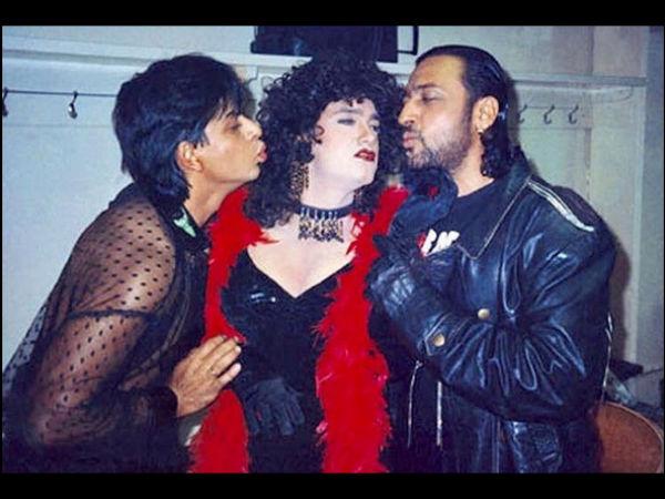 Shahrukh Khan Tries To Kiss Aamir Khan, Shahrukh Khan Aamir Khan Rare  Kissing Picture Goes Viral, Shahrukh Khan Aamir Khan - Filmibeat