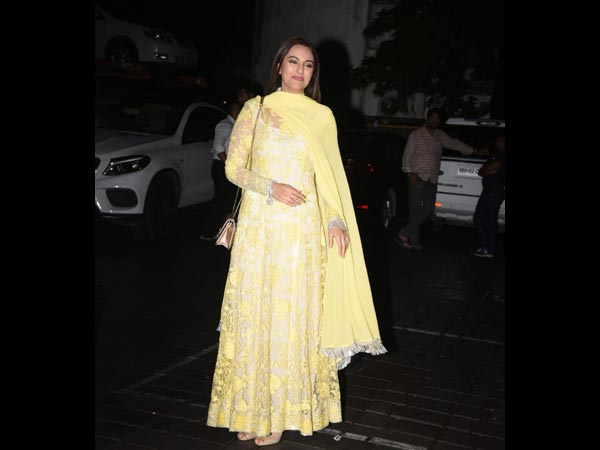 Sonakshi Sinha Is All Yellow