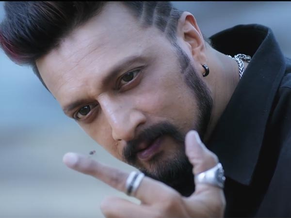 The Director Will Then Shoot A Song With Sudeep And Amy Jackson Which Is Set In Bengaluru Be Done Her Portions This