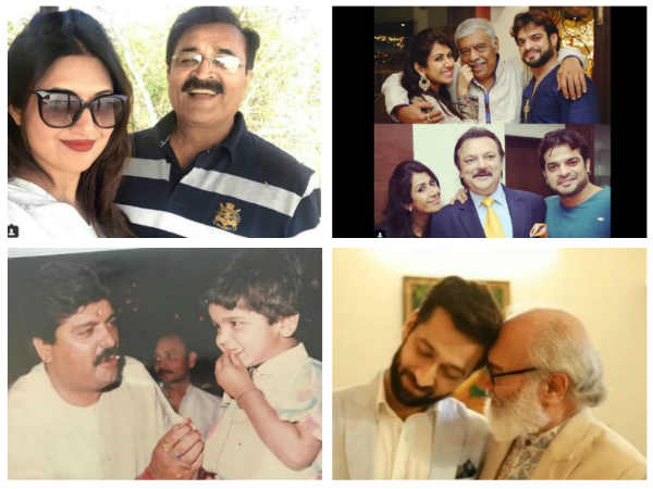 Divyanka-Vivek, Nakuul-Surbhi, Kushal Tandon & Other Celebs Wish Their Dads A Happy Father's Day!