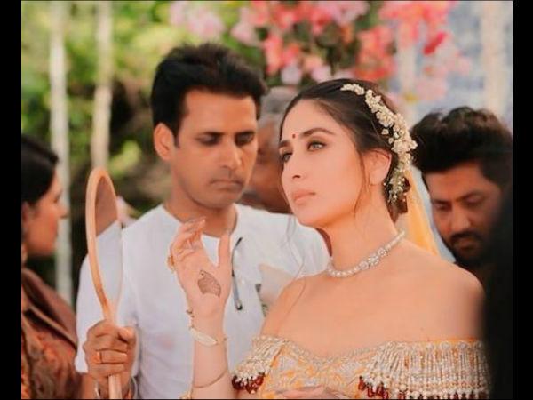 Did You Know Kareena Kapoor Khan S Wedding Dress From Veere Di