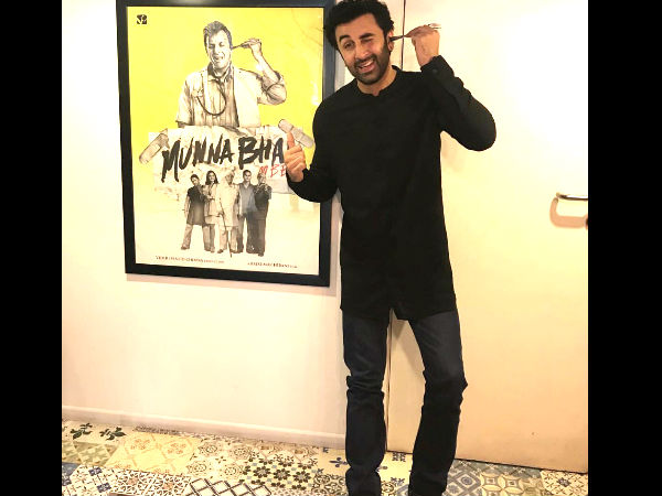 Earlier Also Ranbir Had Admitted Being In Totally We Of Sanjay Dutt