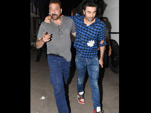 Ranbir Recently Caught Up With Sanjay Dutt