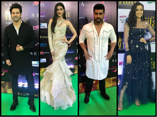 IIFA Rocks 2018 Pictures: Varun Dhawan, Shraddha Kapoor, Kriti Sanon & Others Walk The Green Carpet