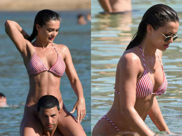 Bikini Alert: Amy Jackson Holidays In Mykonos With Hottie Kimberley Garner!