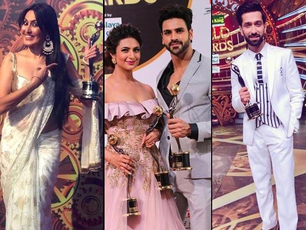 Gold Awards 2018: A Night To Remember! Divyanka-Vivek, Nakuul, Kamya & Others Pose With Awards