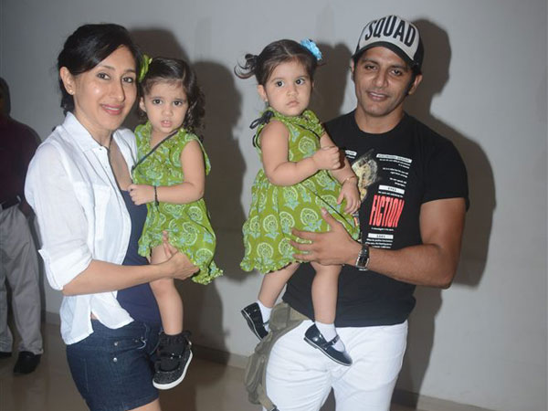 Karanvir & Teejay With Their Adorable Twins