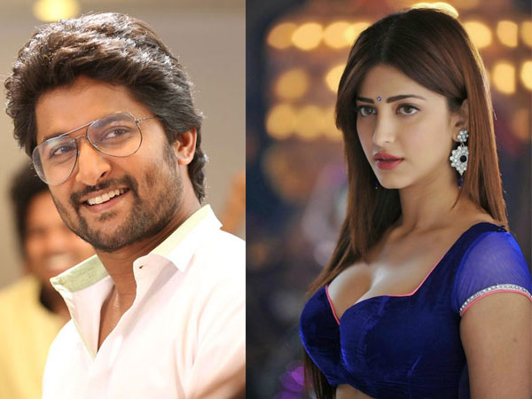 Shruti Haasan To Team Up With Nani For Jersey?