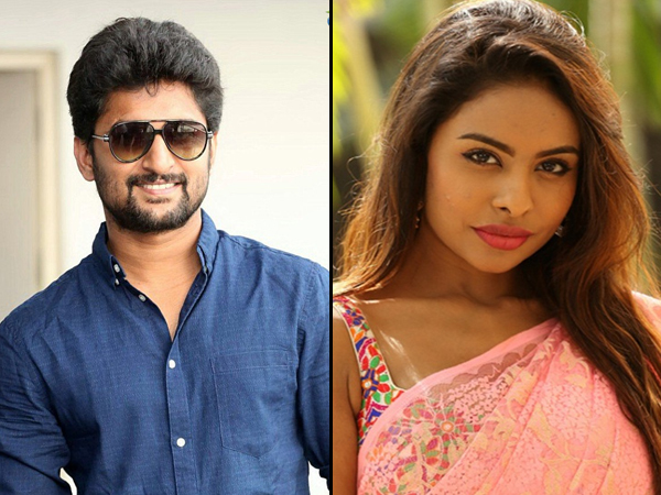 Nani and Sri Reddy