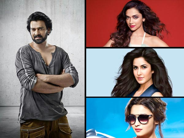 Prabhas Says That Deepika, Katrina And Alia Are His Favourities Heroines