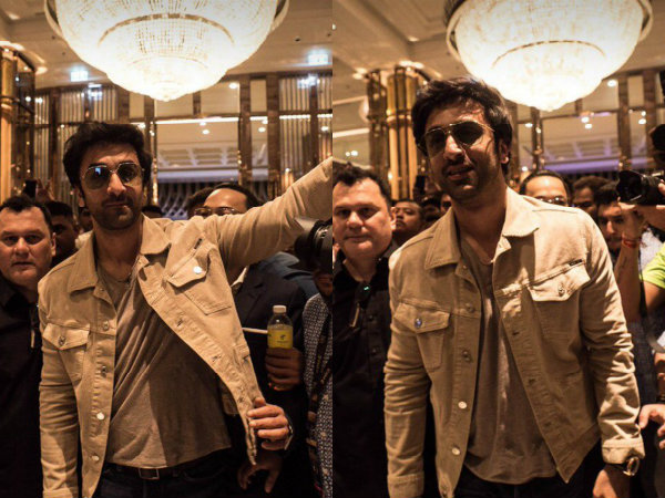IIFA Awards 2018: Ranbir Kapoor Arrives In Bangkok Amidst Fanfare, Pomp & Blitz! View Pictures