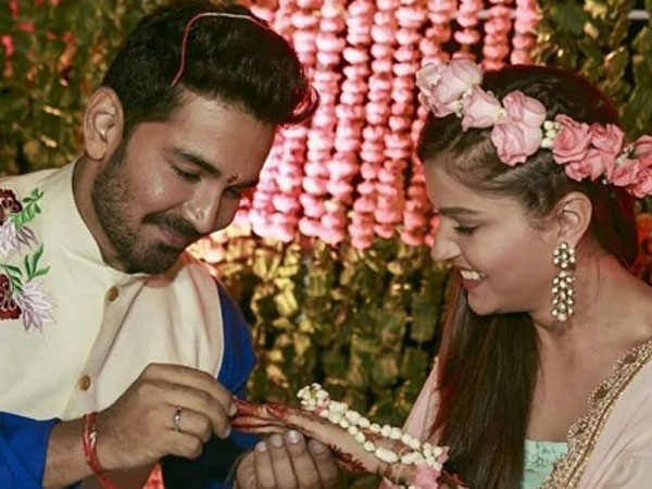 Rubina Dilaik & Abhinav Shukla's Ring Ceremony: The Couple & Their Friends Dance All Night!