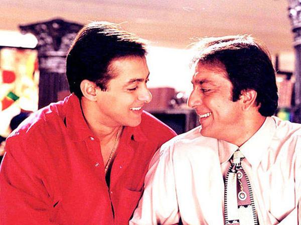 Check Out Salman Khan & Sanjay Dutt's Rare Pictures ...