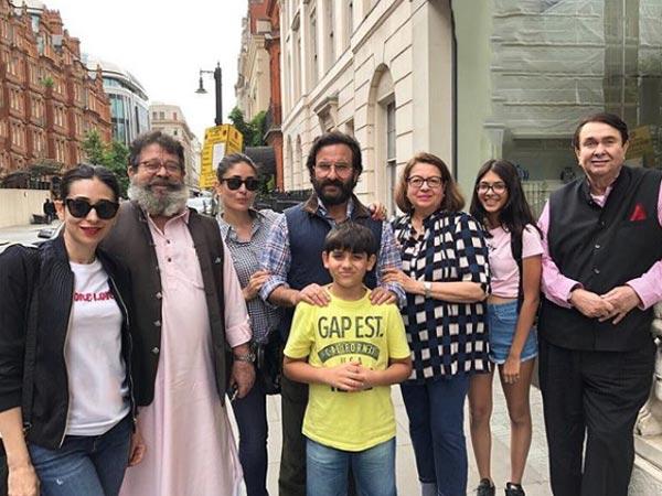 London Diaries: Kareena Kapoor & Karisma Kapoor Head To London With Daddy Randhir Kapoor, View Pics