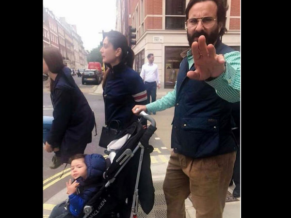 Forget Kareena Kapoor & Saif Ali Khan; Taimur Steals The Thunder In London! View Pictures