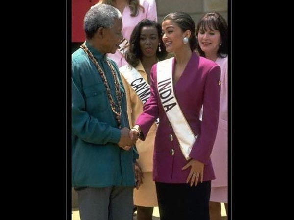 Aishwarya Rai Remembers Nelson Mandela On His 100th Birth Anniversary, Shares A Throwback Picture!
