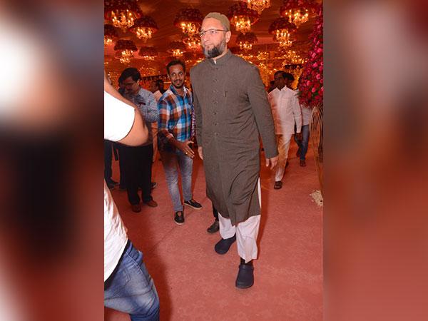 Asaduddin Owaisi At The Wedding