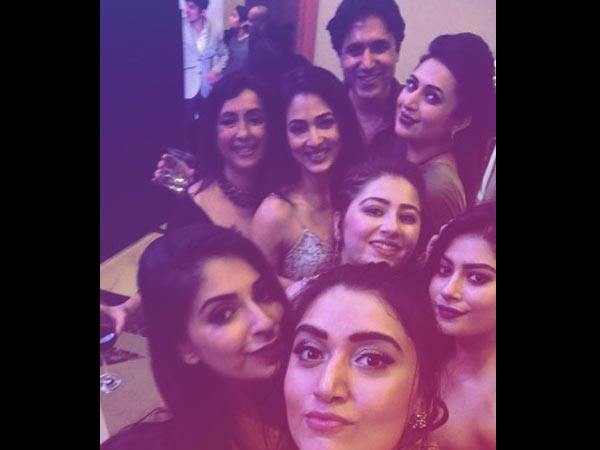 The YHM Team Partying Together!