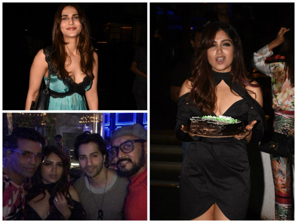 Varun Dhawan, Karan Johar, Vaani Kapoor & Others Attend Bhumi Pednekar's Birthday Bash! Pictures
