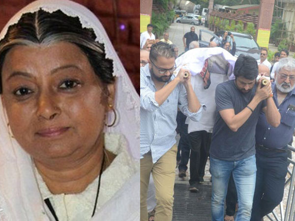 Rita Bhaduri's Funeral: Television Celebrities Bid Goodbye To The Veteran Actress
