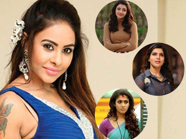 Did Sri Reddy Just Imply That Samantha, Nayanthara and Kajal Aggarwal Have Faced Casting Couch?