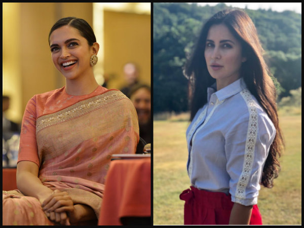 Deepika Padukone Ends Cold War With Katrina Kaif; Does The Unexpected On Her Birthday!
