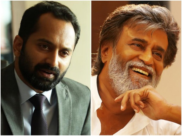 Fahadh Faasil To Share The Screen Space With Superstar Rajinikanth?