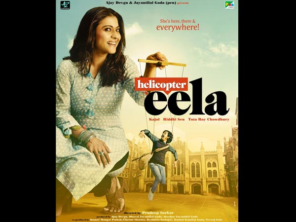 Helicopter Eela Poster: Kajol Plays An Overprotective Mother; Says She's Here, There & Everywhere!