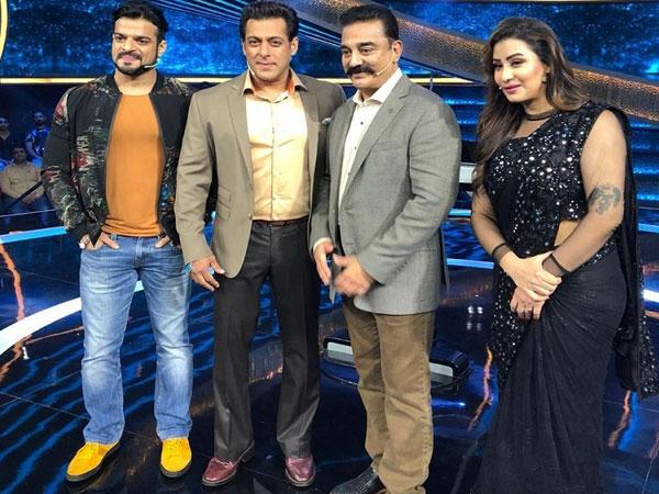 Dus Ka Dum: Kamal Haasan, Karan Patel & Shilpa Shinde Grace Salman Khan's Show (PICS)