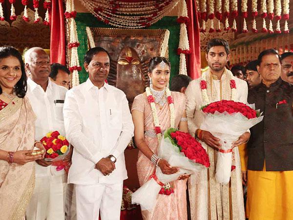 KCR With Shriya And Anindith