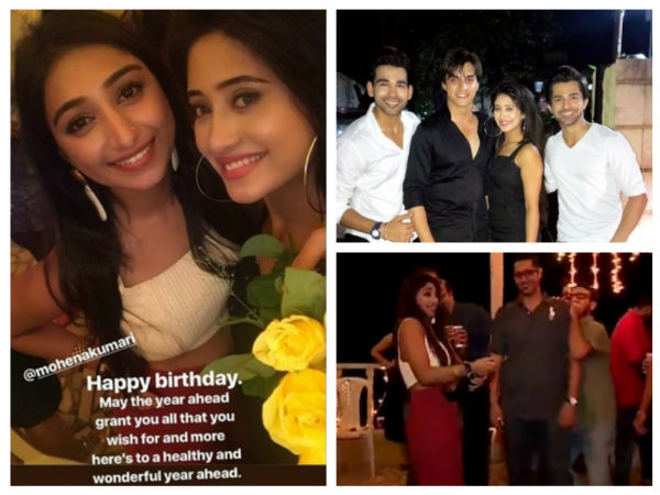 Yeh Rishta Kya Kehlata Hai's Shivangi, Mohsin & Others Have A Blast At Mohena's Birthday Party