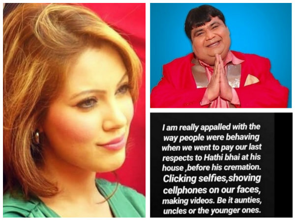 Munmun Dutta Lashes Out At People Who Clicked Selfies At Kavi Kumar Azad's Funeral!