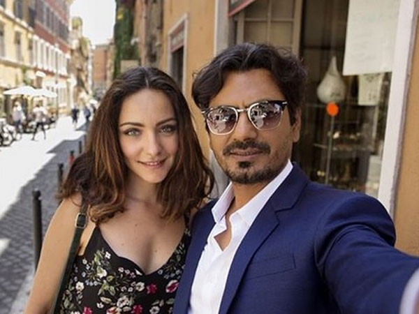 Nawazuddin Siddiqui Poses With A Mystery Girl In Rome; We Know Who She Is!