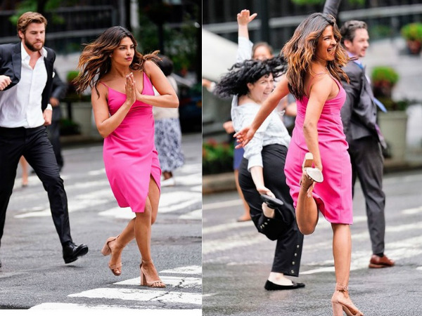 Priyanka Chopra Dances Her Heart Out; Wraps The Shooting Of 'Isn't It Romantic' In Style!