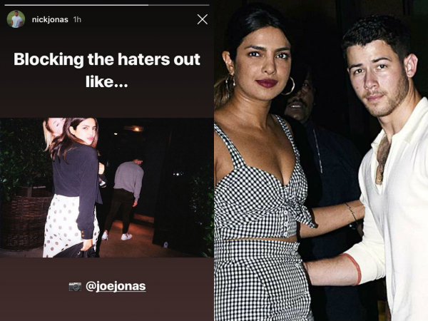 Nick Jonas & Priyanka Chopra Send A Message To The 'Haters'!