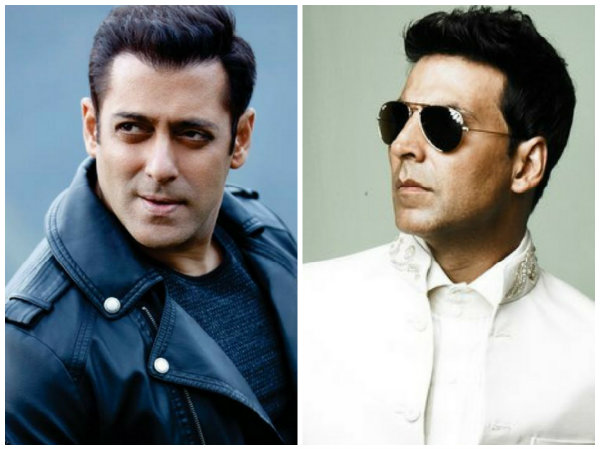 Salman Khan & Akshay Kumar Make It To The Forbes Highest Paid Celebs' List, Shahrukh Khan Not On It!
