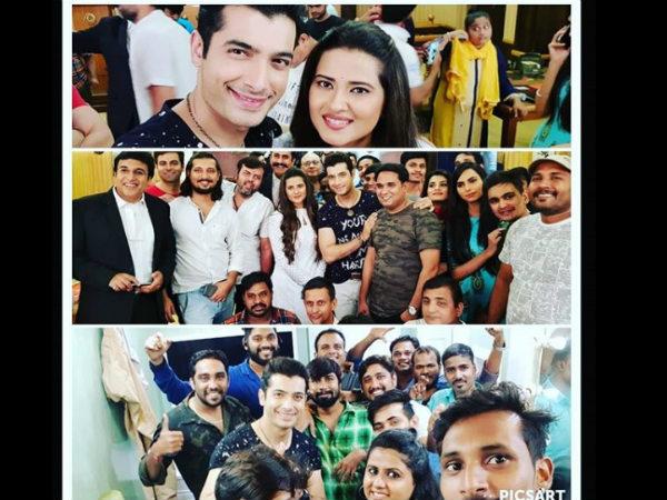 Kasam Tere Pyaar Ki: Sharad Malhotra & Kratika Sengar Share Pictures From Last Day On Sets!