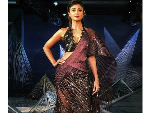 Image result for shilpa shetty india couture week